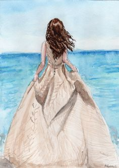 The Siren Cover in watercolor by HaleyGottardo on DeviantArt