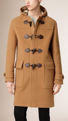 Duffle-coat en laine mélangée Camel | Burberry