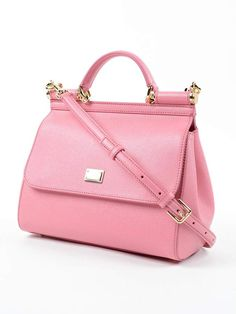cd7dcbc58ee8 Dolce  amp  Gabbana Pink Handbag  ad Canvas Handbags