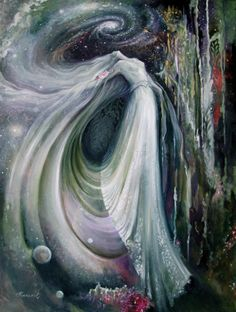 Fantasy painting and mystical art of Rassouli sold by Avatar Fine Arts Fantasy Paintings, Fantasy Art, Illustrator, Inspiration Artistique, Goddess Art, Visionary Art, Sacred Art, Figure Painting, Artist Art