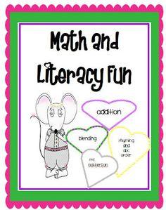 Math and Literacy Freebie
