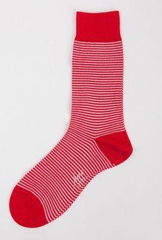 Red Stripe Sock