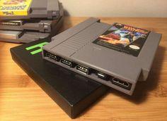 DIY Retro: Pi Cart – Raspberry Pi en cartucho NES para jugar 2.400 juegos [costo…