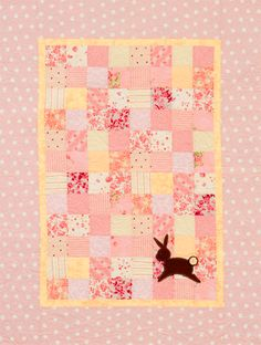 Would be cute as a baby quilt...could applique anything.