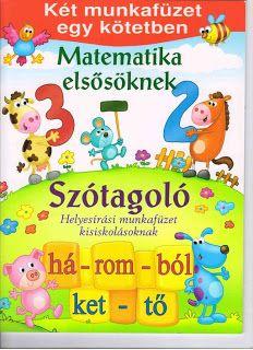 Marci fejlesztő és kreatív oldala: Matek elsősöknek-Szótagoló Book Cover Design, Book Design, Teaching Math, Autism, Children, Kids, Album, Activities, School