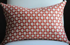 Beautiful Decorative Pillow Cover-14x20-COTTON-Betwixt-Spark/Ivory-Celerie Kemble-Throw Pillow-Accent Pillow. $45.00, via Etsy.