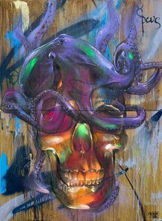 Rems 182. Street Art. Art. Graffiti.