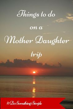 Eight special things to do on a mother daughter vacation - collect all 8 individual pins for a stunning collection to help you create your own special memories