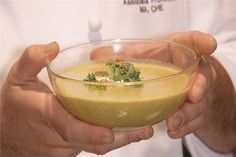 Chef Robert Brener of Johnson & Wales University in Charlotte shows you how to make a delicious curried apple soup with ginger, cream and a small bit of potatoes. It is a perfect warm soup for a cold autumn night.