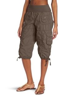 capri cargo pants for women - Pi Pants