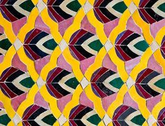 colorful Moroccan pattern