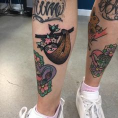 Sloth Tattoo Ideas For Who Who Things Things Slow (? Tribal Tattoos, Body Art Tattoos, Small Tattoos, Fake Tattoos, Tatoos, Hand Tattoo, 1 Tattoo, Mandala Tattoo, Full Sleeve Tattoo Design