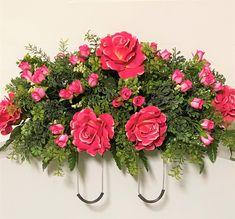 Casket Flowers, Grave Flowers, Cemetery Flowers, Funeral Flowers, Cemetery Vases, Funeral Flower Arrangements, Vase Arrangements, Wreaths For Funerals, Cemetary Decorations