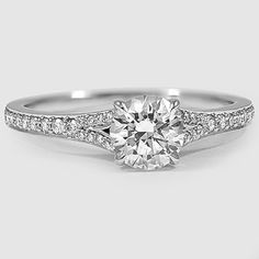 The Duet Diamond Ring