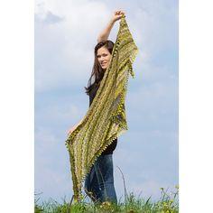 Modell 383/4, Dreiecktuch aus Crazy Zauberball von Schoppel-Wolle « Schoppel « Strickmodelle weitere Marken « Stricken & Häkeln im Junghans-Wolle Creativ-Shop kaufen