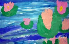 Monet's Water Lillies-Grade 1