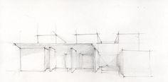 GRAM Museum #GrandRapids #museum #architecture #study #drawing #pencil