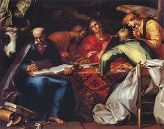 Абрахам Блумарт (Abraham Bloemaert) (1564–1651) The Four Evangelists, 1615