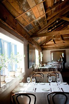 Angele is one of Napa's most charming eateries. Get a window seat overlooking the river.