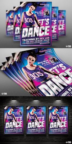 Check Out New Work Hip Hop Party Psd Flyer Template Event