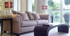 Helen Turkington is among one of the most influential and talented interior designers within Ireland and the UK. Helen Turkington, Sofas, Ireland, Couch, Interiors, Living Room, Furniture, Design, Home Decor