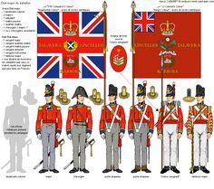"""Reggimento di fanteria delle """"Foot Guards"""" - stato maggiore di reggimento"""