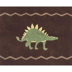 Sweet JoJo Designs Dinosaur Cotton Floor Rug