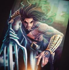 Jason Momoa Aquaman by FooRay