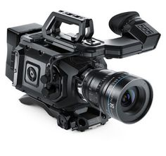 Features Super 35 size sensor with 15 stops of dynamic range Shoot in incredible quality Ultra HD Dual Recorders for Non Stop Recording User Upgradeable Sensor and Mount Massive Viewfinder as a fol… Hd Camera, Cinema Camera, Video Camera, Digital Cinema, Digital Film, Digital Cameras, Cheap Cameras, Cameras For Sale, Camcorder