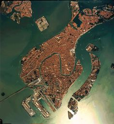 Venice, from above More