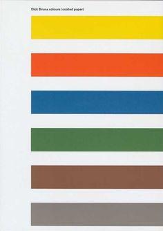Dick Bruna colours