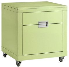 "Parsons 20.5""W File Cabinet - File Cabinets - Home Office Furniture - Furniture 