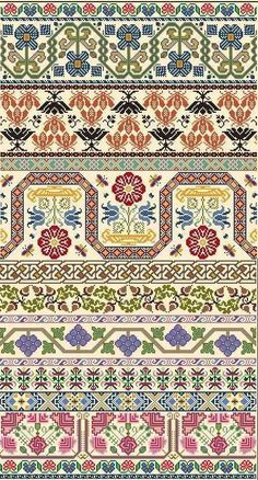 Thrilling Designing Your Own Cross Stitch Embroidery Patterns Ideas. Exhilarating Designing Your Own Cross Stitch Embroidery Patterns Ideas. Fair Isle Knitting Patterns, Fair Isle Pattern, Knitting Charts, Knitting Stitches, Sock Knitting, Knitting Machine, Vintage Knitting, Free Knitting, Cross Stitch Borders