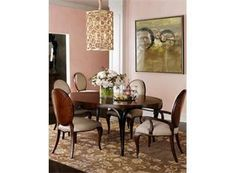 """horchow """"elizabeth"""". i love the table in this room, but nothing else."""