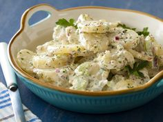 Cold-Fashioned Potato Salad recipe from Alton Brown via Food Network