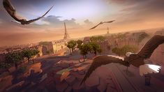 "A stunning game with the visuals of ""Assassin's Creed"" and the gravitational thrill of bungee jumping."