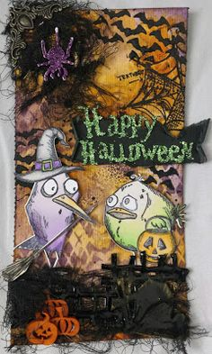 Blog scrapatouille: Gagnante Happy Halloween
