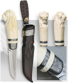 One-of-a-kind knife: Lion knife - JT Pälikkö