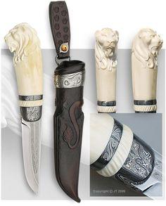 One-of-a-kind knife: Lion knife - JT Pälikkö