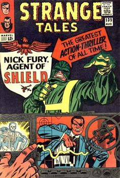 Nick Fury in Strange Tales #135