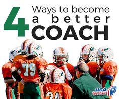 Want to become a better coach? #usafootball