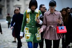 Paris Fashion Week Fall 2016 Street Style, Day 3 -