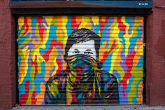 ICY and SOT, Iranian street artists, create awe-inducing murals about peace, war and social justice. Different Kinds Of Art, Types Of Art, Graffiti Art, New York Street Art, Modern Art, Contemporary Art, Protest Art, Nyc Art, Messages