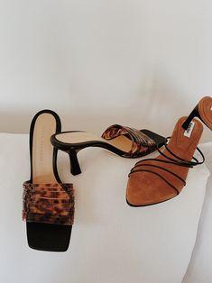 Reike Nen 5 Strings Pointed Sandals , Dear Frances Reed Heels , By Far Libra Leather Mules Women's Shoes, Shoes 2018, Me Too Shoes, Flat Shoes, Shoes Sneakers, Shoes Men, Ankle Boots, Heeled Boots, Shoe Boots