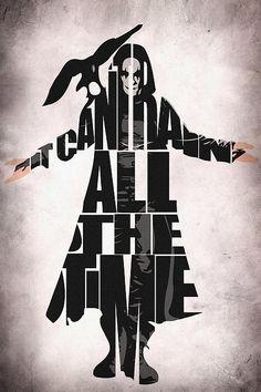 The Crow   fan art   by Ayse Toyran