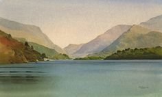 From Penllyn, Llanberis, an original watercolour painting by Rob Piercy