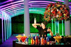 Bar com drinks não alcóolicos