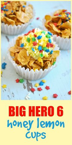 "Big Hero 6 ""Honey Lemon"" Cups - The Seasoned Mom"