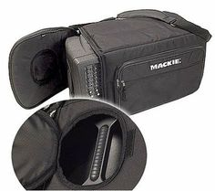 Mackie Powered Mixer PPM Series Bag by Mackie. $64.99. Protect your Mackie powered mixers with these specially designed foam padded mixer bags.  The high-impact, high-density rigid internal foam offers drop protection for the mixer. Plus these bags have a large side zippered pocket with zippered slip pocket. The following powered mixers fit in this bag: 406M, 808M, 808S,  PPM608 and PPM1008 models.