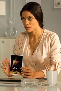 """Rosario Dawson in """"Trance"""" 2013."""
